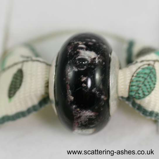 Pandora Ashes Charm Bead - Black