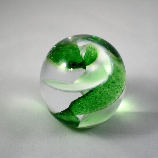 Pets Ashes within Glass Paperweight