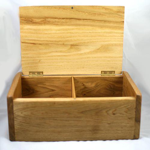 large wooden urn