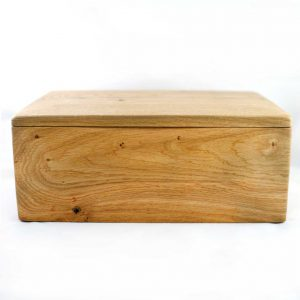 Double Ashes Wooden Pet Urn