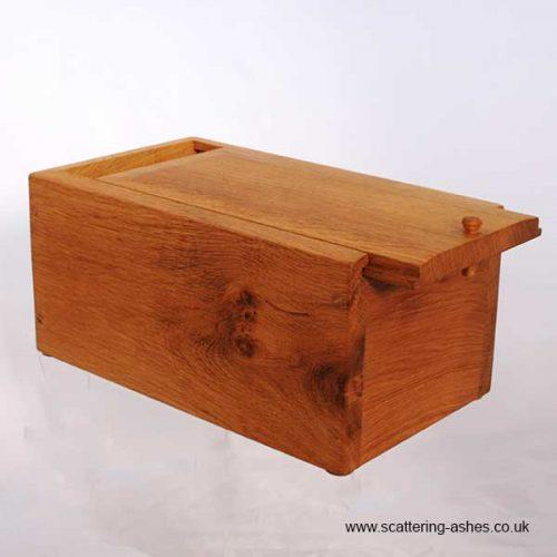 Handmade wooden pet urn BURIAL