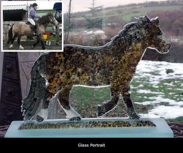 bespoke glass pet memorials