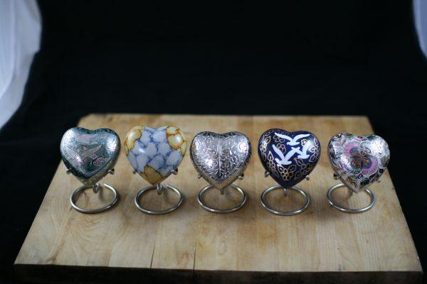 Pet Keepsake Hearts: Handcrafted Brass Urns