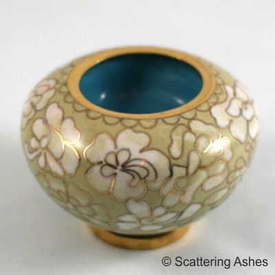 Pet Keepsake Cloisonné Candleholders Golden Summer