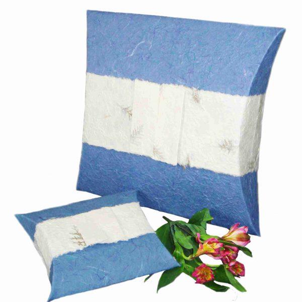 Pet Burial Pillow - Aqua