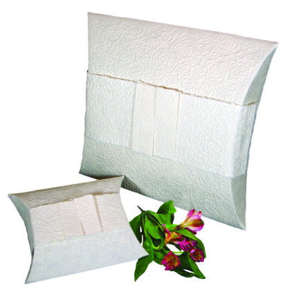 Pet Burial Pillow - Embossed Pearl