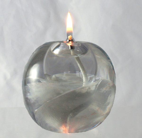 candle oil burner