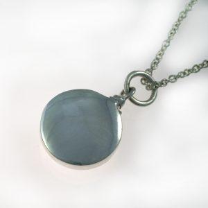 Silver Round Pendant