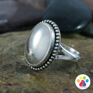 Silver Pet Ashes Ring - Jensen Style Ring