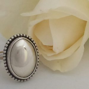 Silver Pet Ashes Ring