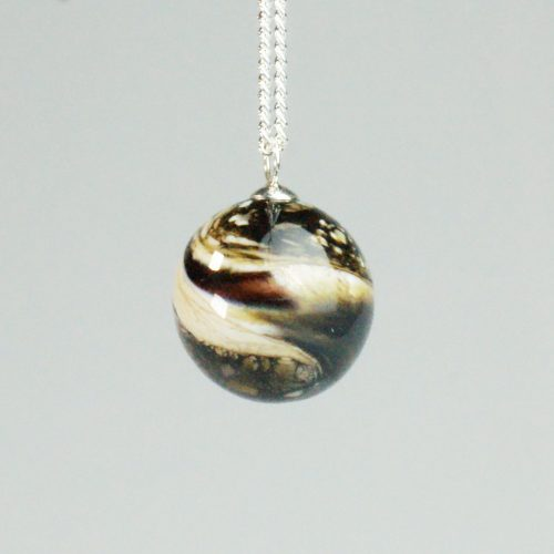 pet cremation bead pendant