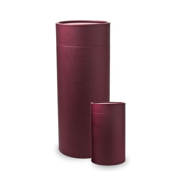 burgundy scatter tube