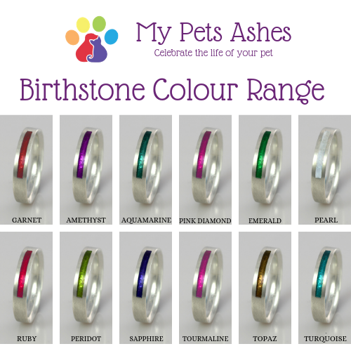 Birthstone Rings in Silver and Gold