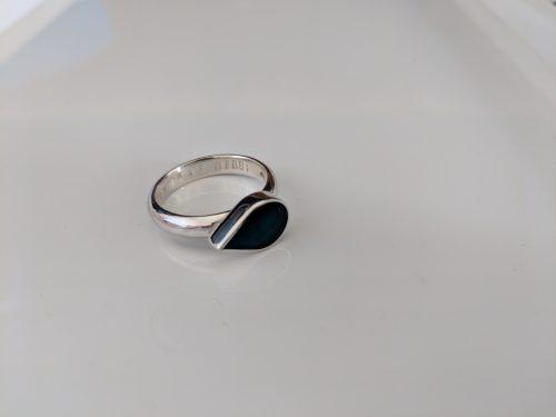 silver birthstone ring