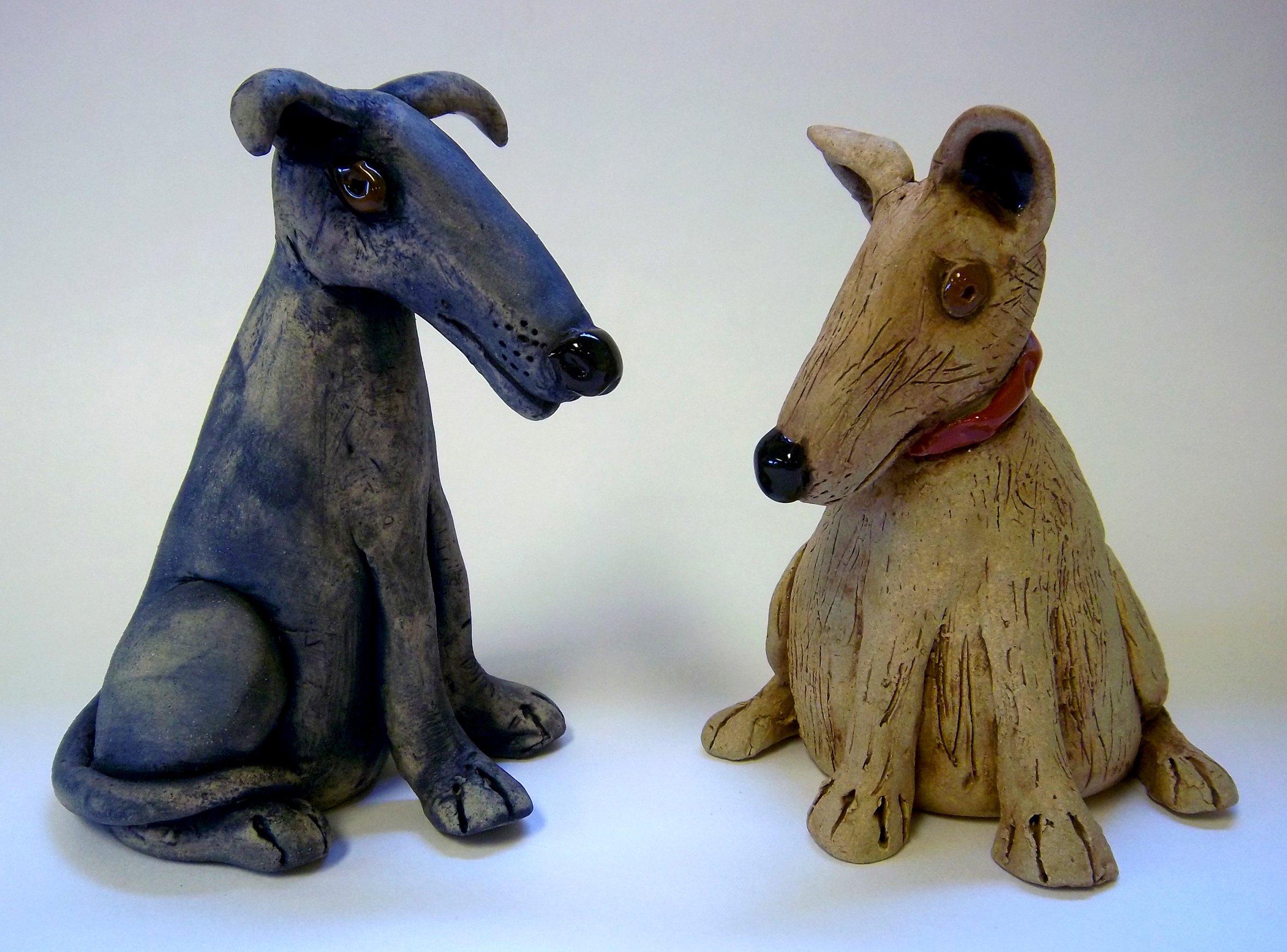 handmade dog urn
