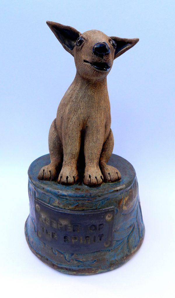 handmade pottery urn
