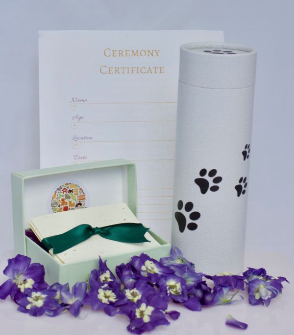 Pet Scattering Ashes Set