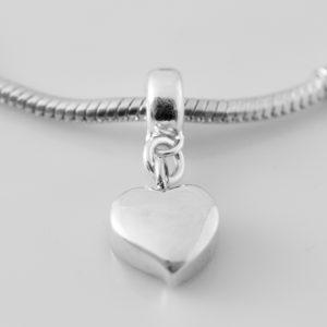 silver pandora ashes charm