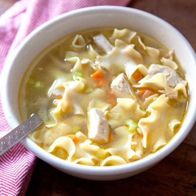 Feel-Good Chicken Soup