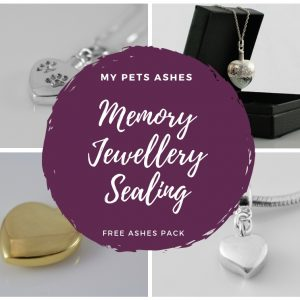memory jewellery sealing