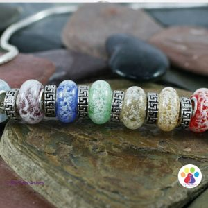 Rainbow Bridge Bracelet for Pet Ashes