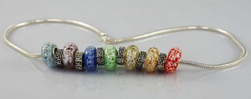 Rainbow Bridge Bracelet for Pet Ashes