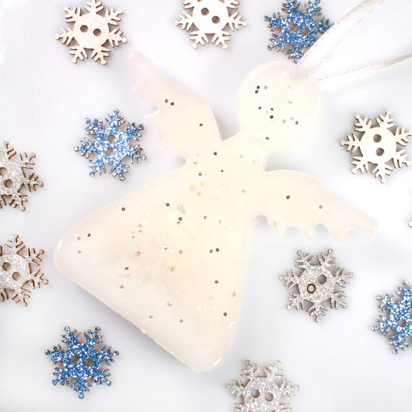 Christmas Angels - Memorial Tree Decorations - White