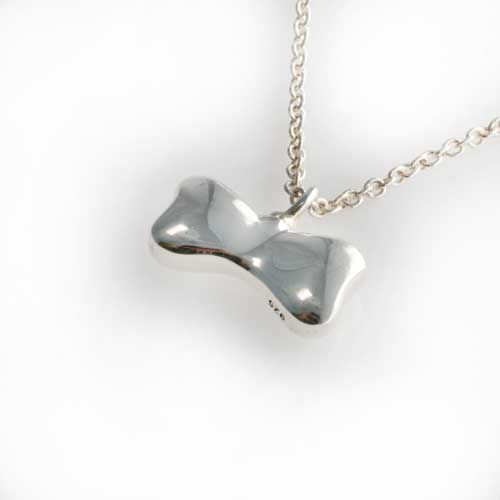 Silver Bone Pendant
