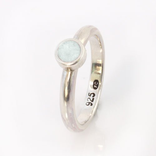 Ashes Jewellery-Elegance Ring - June Pearl