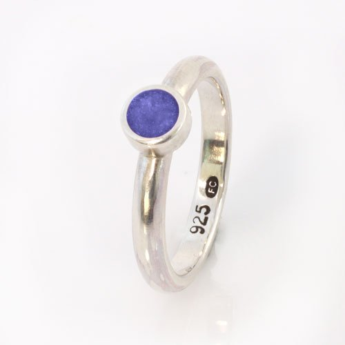 Ashes Jewellery-Elegance Ring - Sept Sapphire