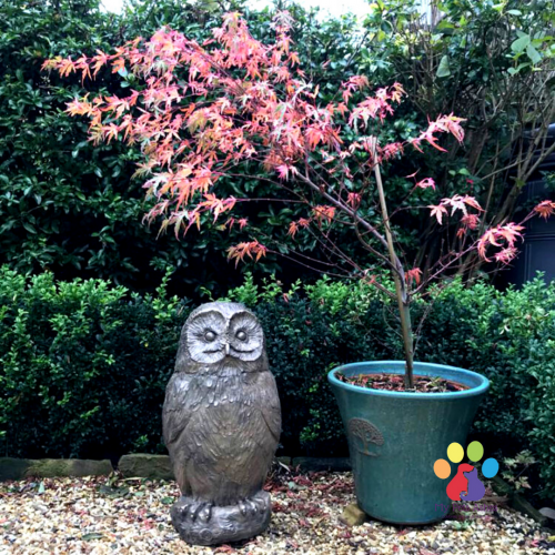Owl Garden Urn - My Pets Ashes